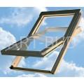 Okno dachowe obrotowe 78x98 Optilight VB z nawiewnikiem z szybą hartowaną (1szt).
