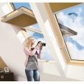 Okno o podwyższonej osi obrotu FYP-V U3 proSKY - FAKRO. 78x140, 78x160 lub 78x180 cm (zł/szt)