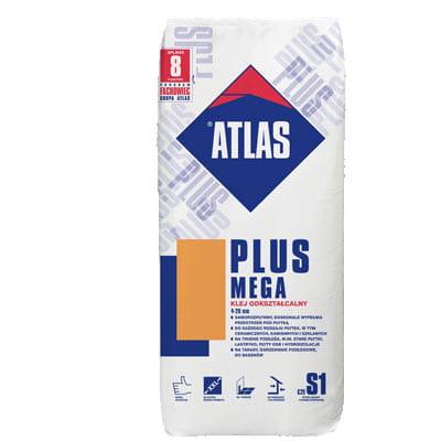 Atlas plus mega biały