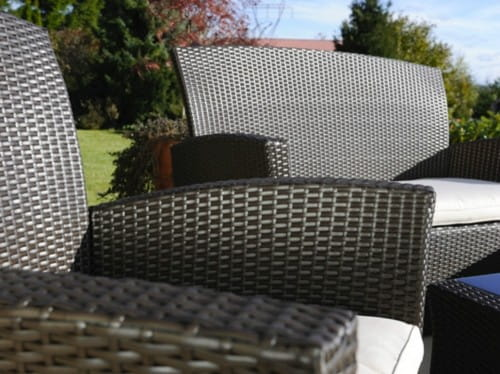 Meble Ogrodowe Sztuczny Rattan Allegro : Meble ogrodowe technorattan sofa fotele ława TANI  3237939843