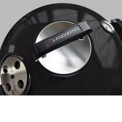 grill kulisty w zek czarna per a comfort rednica 60 cm landmann 31342. Black Bedroom Furniture Sets. Home Design Ideas