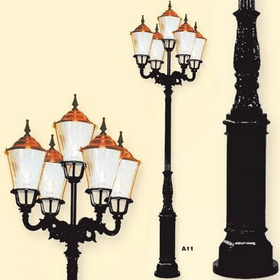 Lampa parkowa, zestaw A12, A13, lampy ogrodowe Retro Artbud.pl
