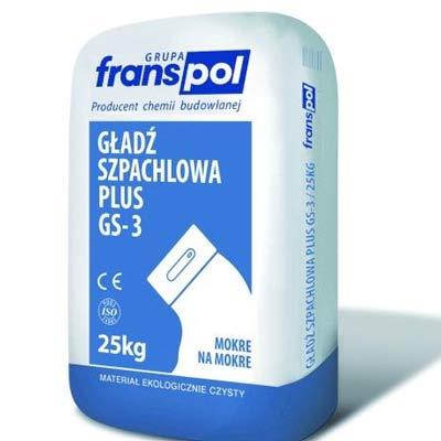 Gładź Szpachlowa Extra Gs 2 Franspol 20 Kg Artbudpl