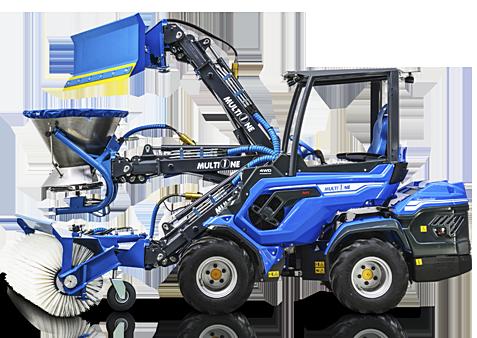Mini ładowarka maszyna wielozadaniowa Multione Seria 8.4+ i