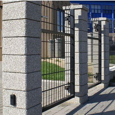 Ogrodzenie Betonowe Płukane Kształtka Słupka Styl Bet 30 X 30 X 175 Cm