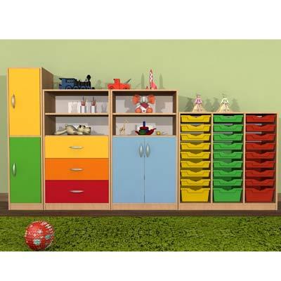 Inne rodzaje Meble przedszkolne zestaw Primo wyposażenie przedszkoli i szkół BM32