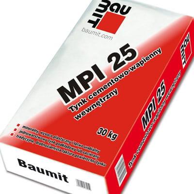 Tynk Cementowo Wapienny Wewnetrzny Baumit Mpi 25 Artbud Pl