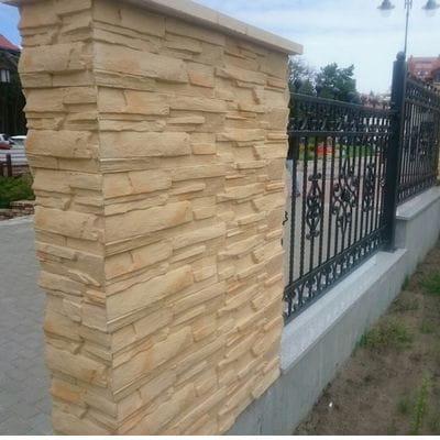 Chwalebne System ogrodzeń TESERA daszek na murek i na słupek WALMAR - Artbud.pl UB32