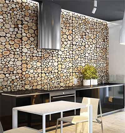 Panele ścienne Drewniane Pure Z Serii Wood Collection