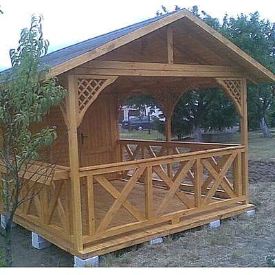 Altana Domek Letniskowy Drewniany 6 X 3 M Kr