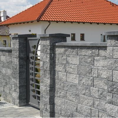 Ogrodzenie łupane Bloczki Ogrodzeniowe Murafit Kamal
